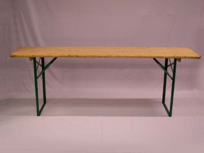 Picknicktafel 50x210cm
