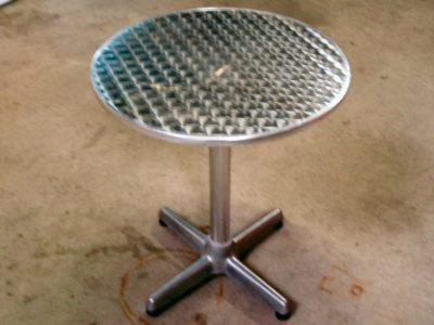 bistrotafel RVS 60cm