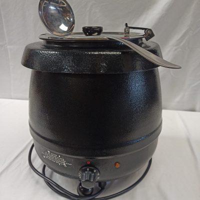 Soepketel elektrisch 10 liter met pollepel