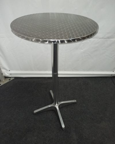 Statafel rond 60cm RVS