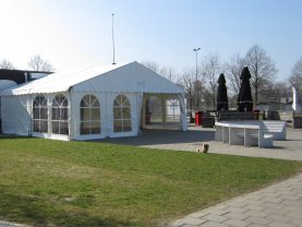 Alu-tent 8x6m